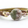 Bracelets in Chalcedony Murano Glass