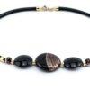 Necklaces in Murano Glass & Avventurina