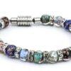 Bracelet in Murano Glass and Aventurine