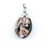 Pendent in Murano Glass and Aventurine