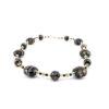 Necklace in Chalcedony Murano Glass & Avventurina